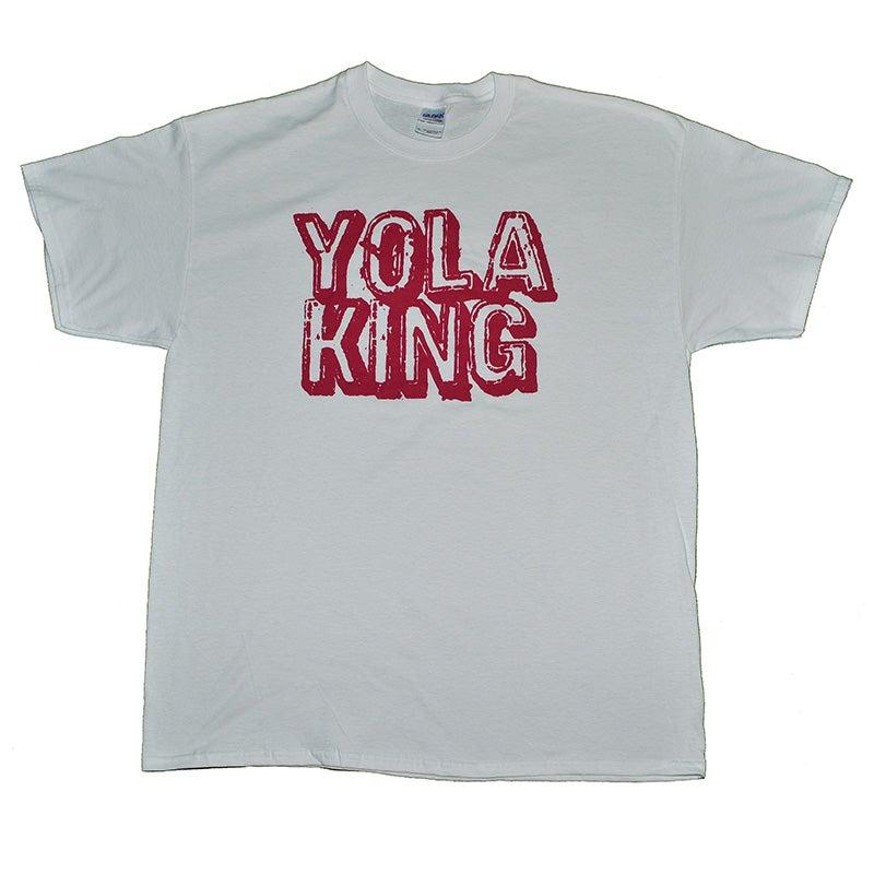 Image of Yola King T-Shirt (White/Red)