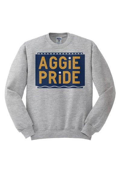 Image of Vintage Aggie Pride - Grey & Blue