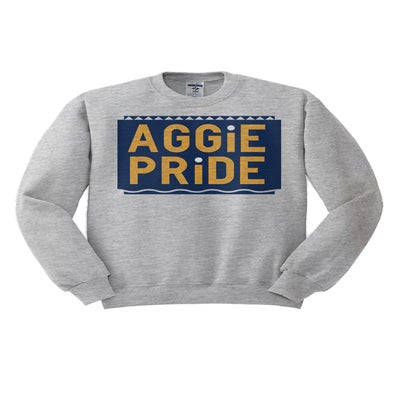Image of Vintage Aggie Pride - Grey & Blue