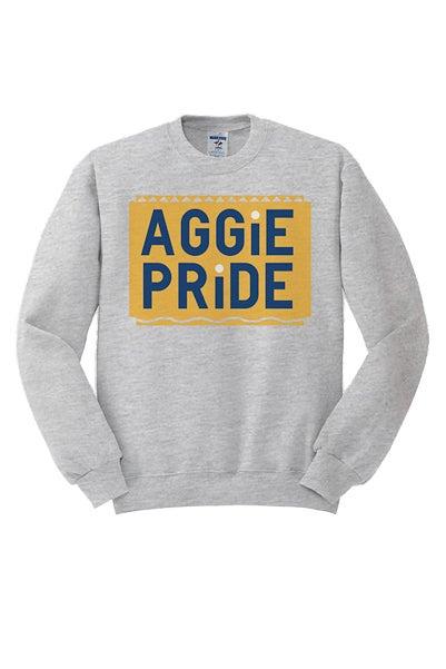 Image of Vintage Aggie Pride - Grey & Gold