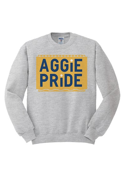 Image of Vintage Aggie Pride - Grey & Gold