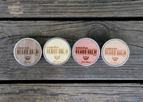 Image of All Natural Organic Beard Balm Handmade in Small Batches 2 oz.
