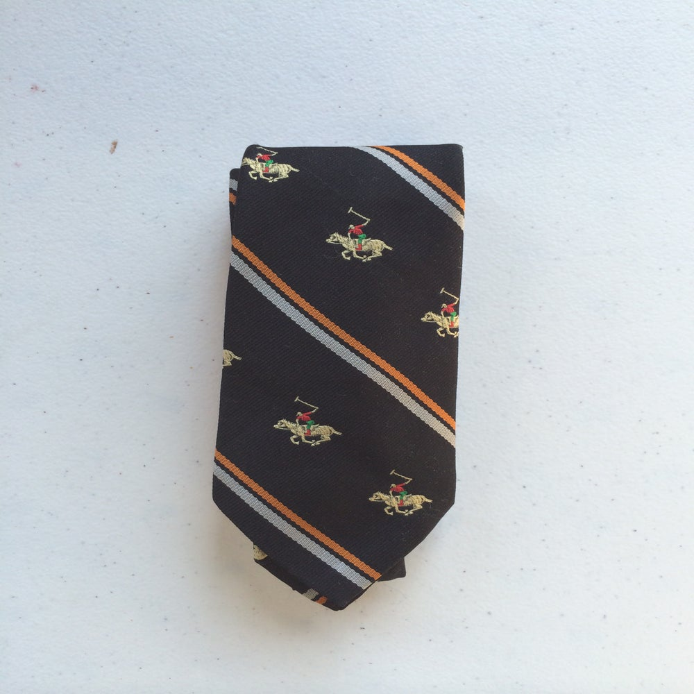 Image of Horse Motif Tie
