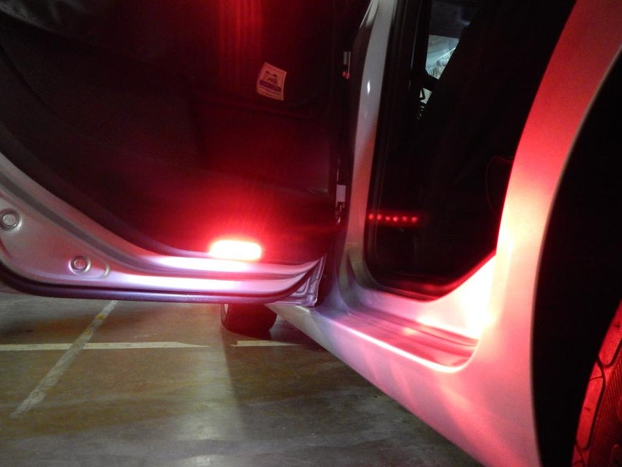 Exterior Lighting Door Puddle Amp Warning Leds Deautokey