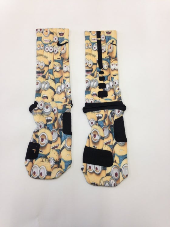 Image of Despicable Me Custom Nike Elite Socks