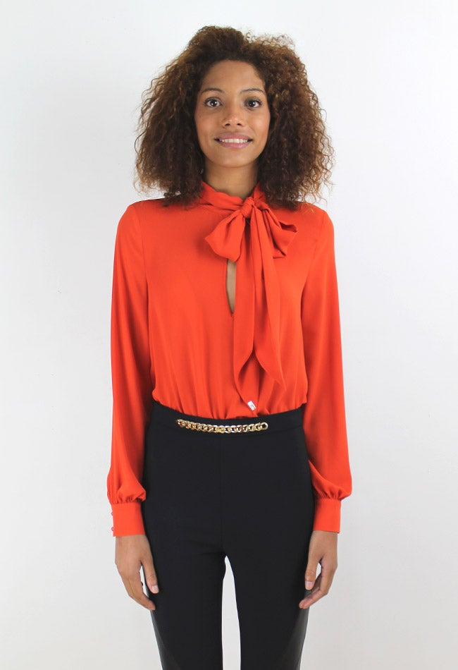 Image of ORANGE BLOUSE