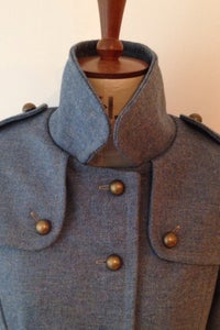 Image of Longer length military great coat