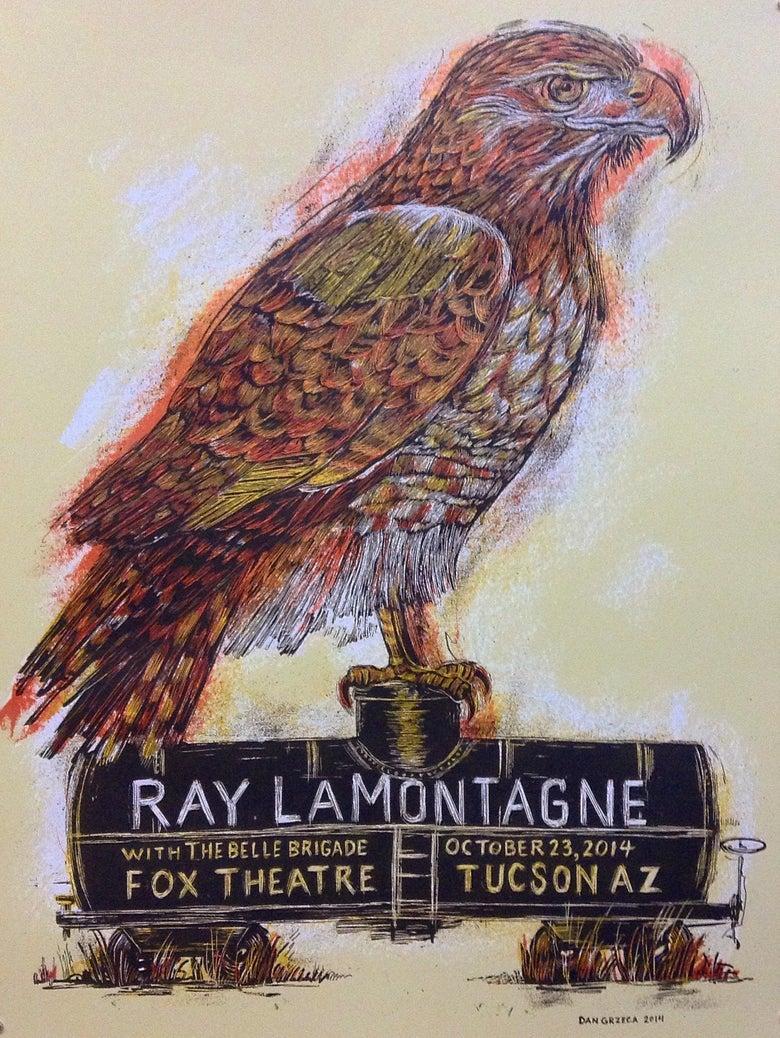 Image of Ray LaMontagne Tucson poster