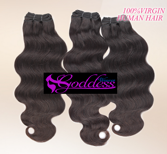 Image of Mix lengths, Best quality  100% Remy Virgin Brazilian, Malaysian, Peruvian human hair