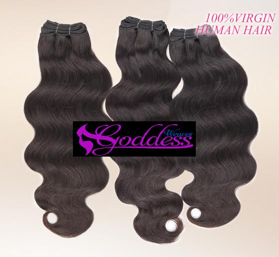 Image of Mix lengths, Best quality Gold Goddess 100% Remy Virgin Brazilian human hair no mixed