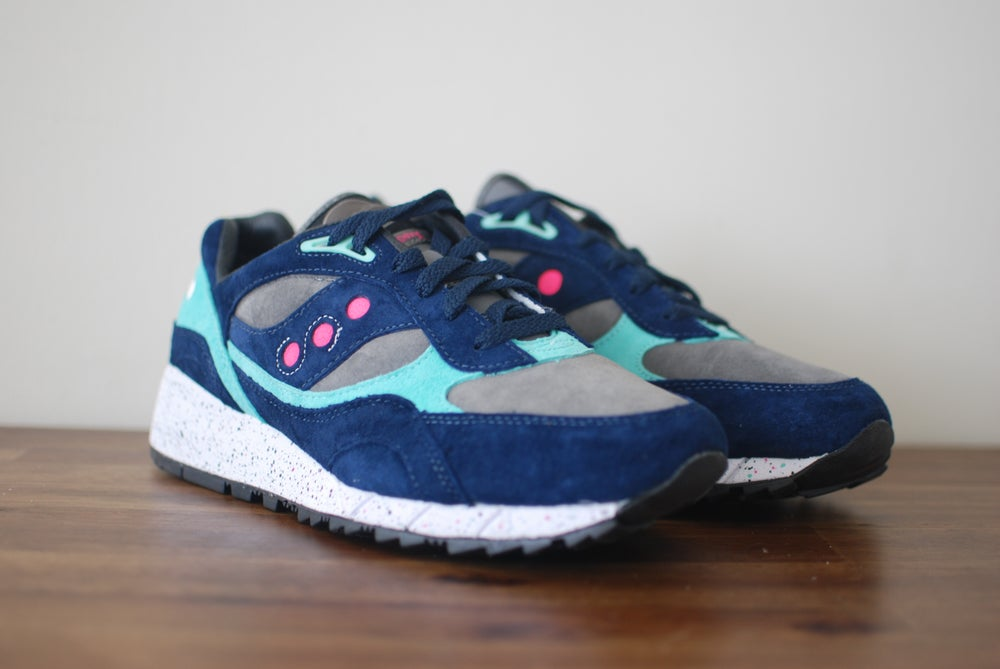 Image of Offspring x Saucony Shadow 6000 Navy