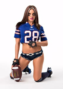 Image of Velvet Sky Buffalo Bills Fantasy Football 18x24 poster