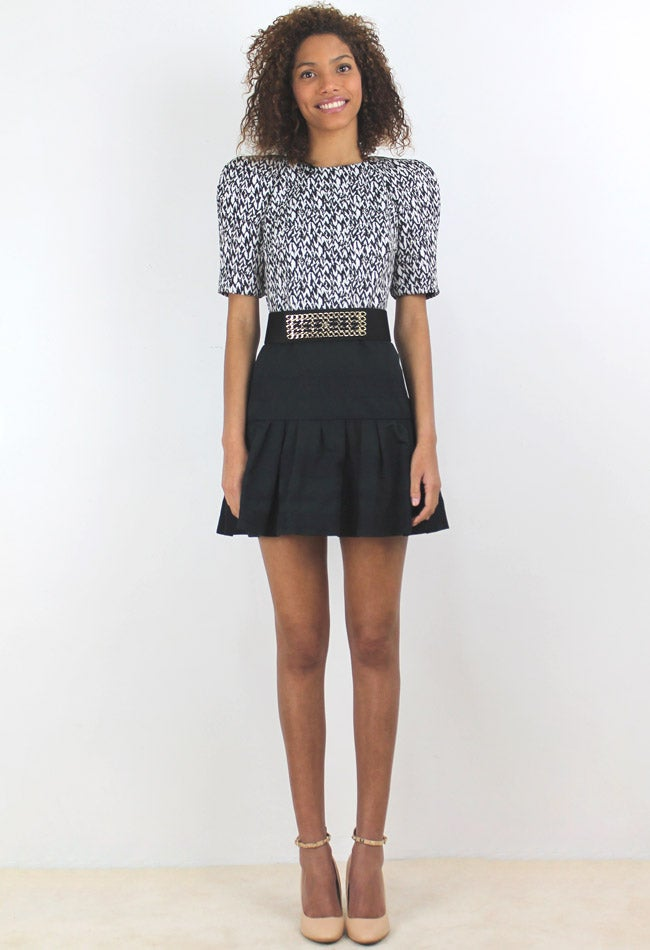 Image of PEPLUM SKIRT