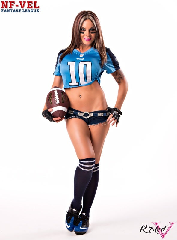 Image of Velvet Sky Fantasy Football Tennessee Titans 18x24 poster