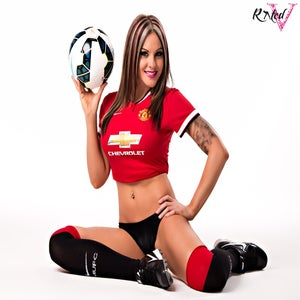 Image of Velvet Sky Manchester United custom poster shoot