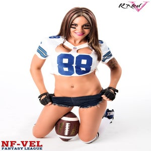 Image of Velvet Sky Dallas Cowboys Fantasy Football 18x24 poster
