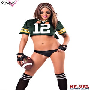Image of Velvet Sky Green Bay Packers Fantasy Football 18x24 poster