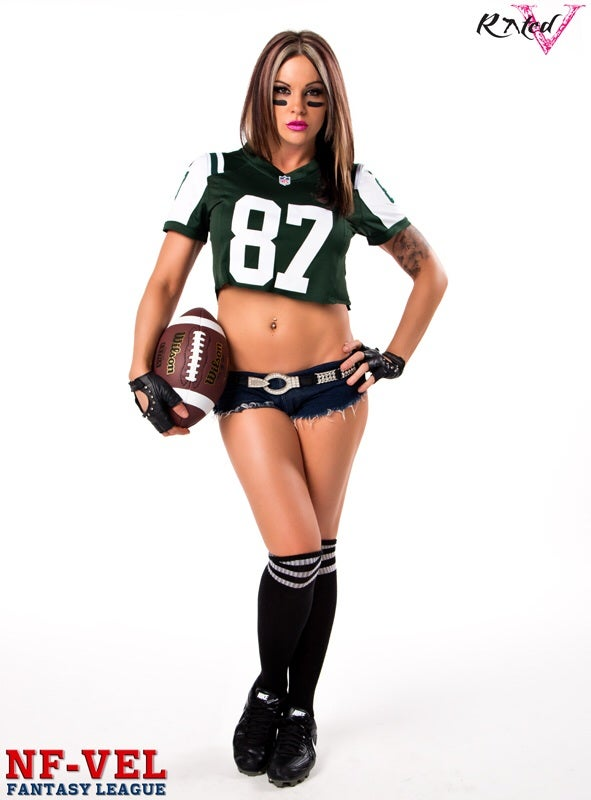Image of Velvet Sky New York Jets Fantasy Football 18x24 poster