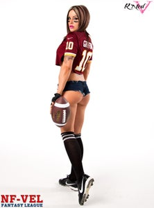 Image of Velvet Sky Fantasy Football Washington Redskins 18x24 poster