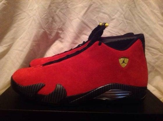 "Image of Air Jordan 14 Retro Ferrari ""2014"""