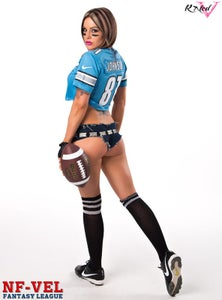 Image of Velvet Sky Detroit Lions Fantasy Football 18x24 poster