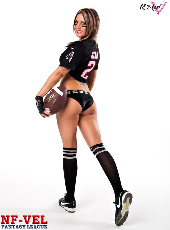 Image of Velvet Sky Atlanta Falcons Fantasy Football 18x24 poster