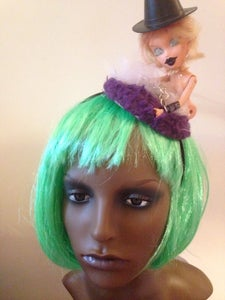 Image of Psycho Barbie Fascinator