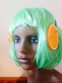 Image of Orange Ears Headpiece