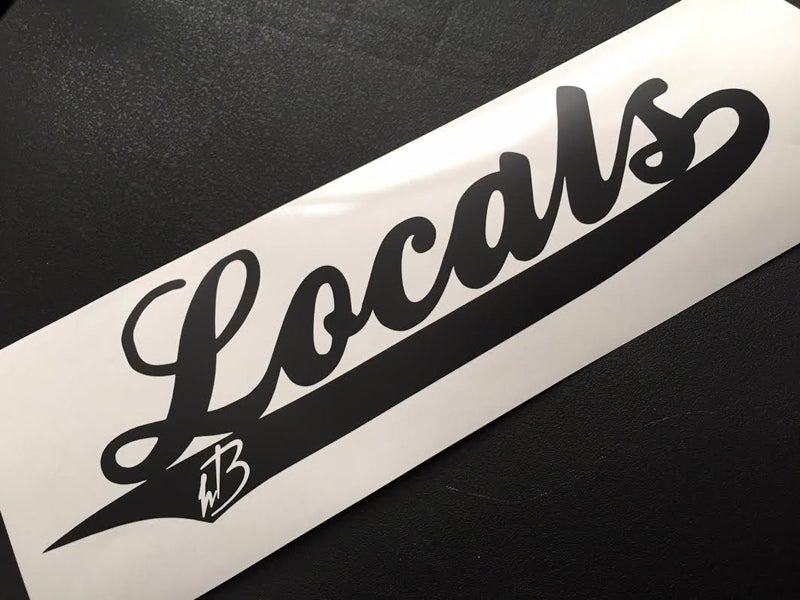 Image of HB Locals Decal
