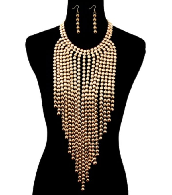 Image of Lay It On Me Gold Necklace