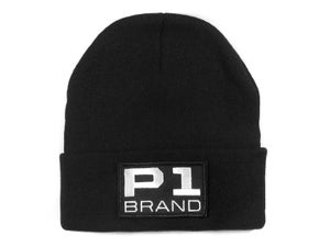 "Image of ""Badged"" Beanie (P1B-A0520)"