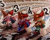 Image of Dragon Boats 8x10 Block Mounted Print