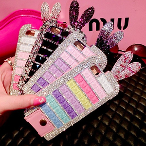 Image of Diamond Studded Bunny Case