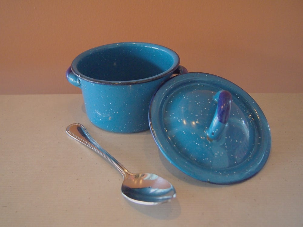 Image of Blue Small Pot