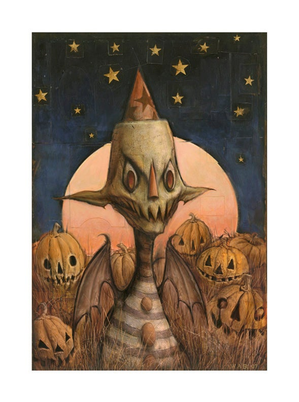 """Image of """"Pumpkin Patch Goblin"""" Limited Edition print"""