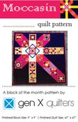 Image of Moccasin Sampler Quilt Pattern - Hard Copy Paper