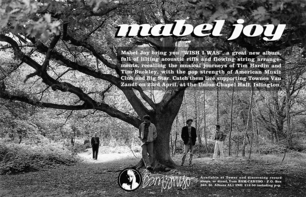 Image of Mabel Joy - Wish I Was CD/Digipack
