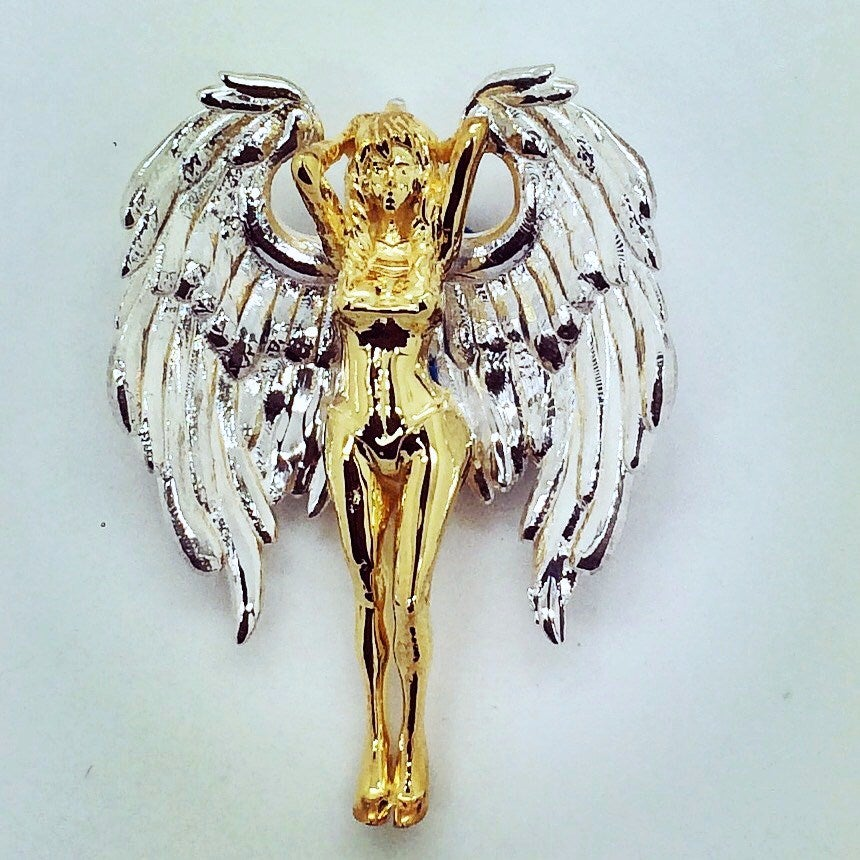 "Image of Micro ""Vixen Angel"" Pendant"