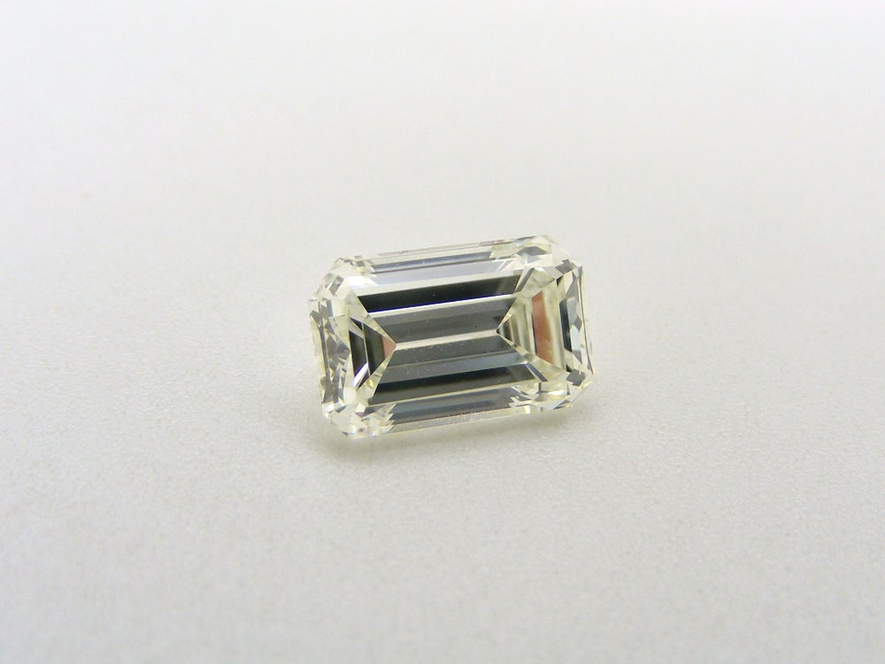 Image of Emerald Cut G.I.A. Certified Diamond
