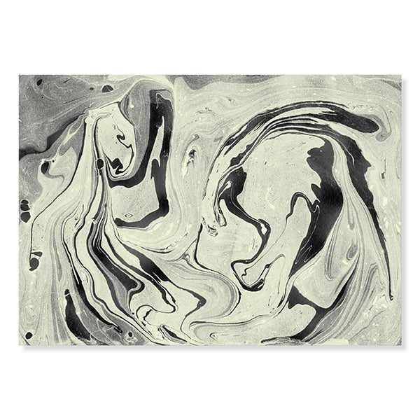 Image of Marble Print / Yellow