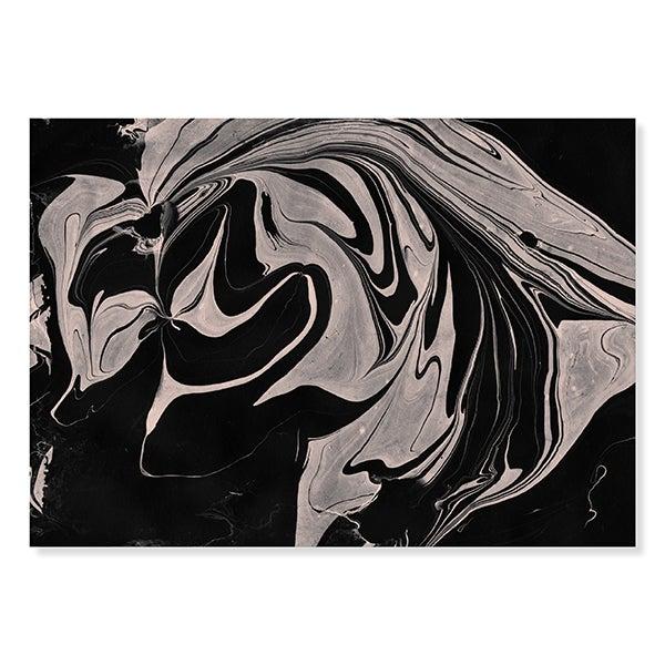Image of Marble Print / Black