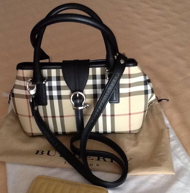 Burberry Handbags Leather