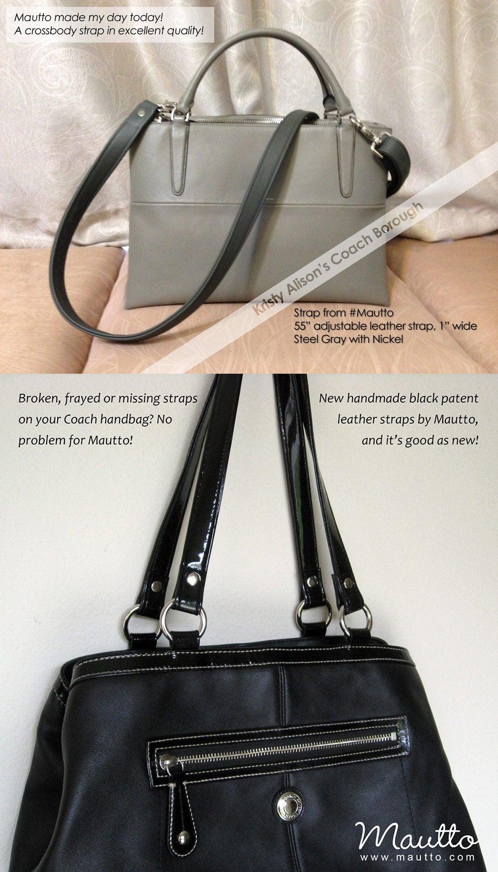 Custom Replacement Straps Amp Handles For Coach Handbags