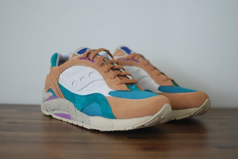 Image of Bodega x Saucony Elite G6 Shadow 6 Unreleased sample