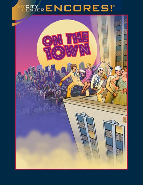 """Image of CITY CENTER ENCORES - """"ON THE TOWN"""" - 2008 Season"""