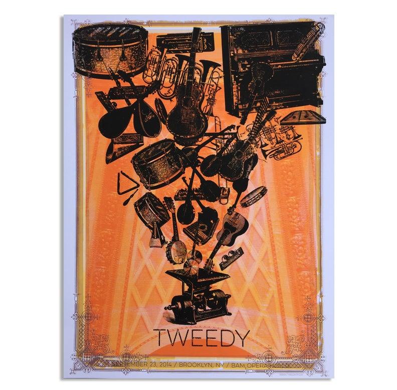 Image of TWEEDY Poster, Brooklyn