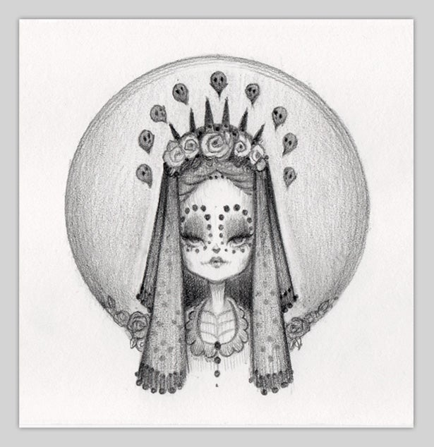 Image of Little Bride of Muerte