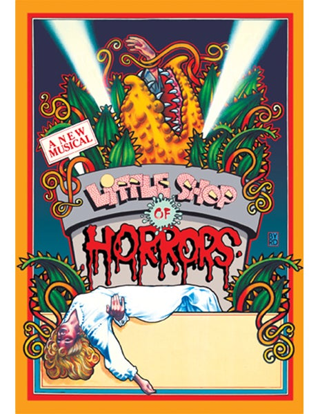 """Image of """"LITTLE SHOP OF HORRORS"""" WPA THEATRE - 1982"""