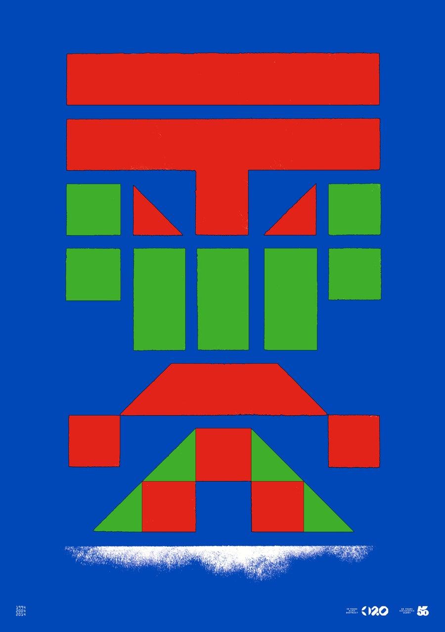 Image of Büro Destruct - Tribler Pixel (Poster)
