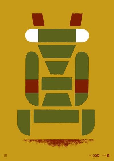 Image of Büro Destruct - Tribler Mantis (Poster)